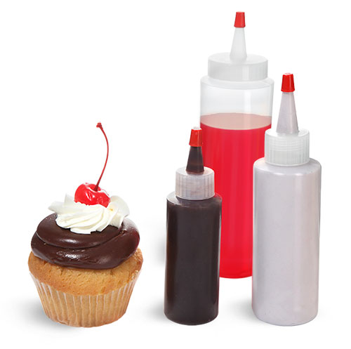 Cake Decorating and Frosting Bottles