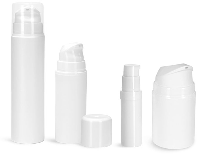 Plastic Cylinders for Skin Care Packaging