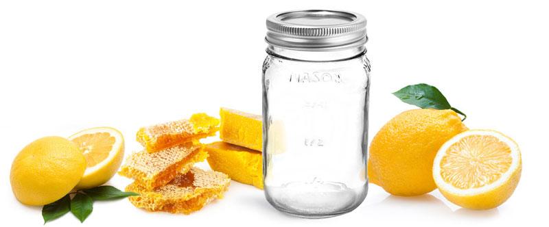 DIY - Beeswax Candles in Glass Mason Jars