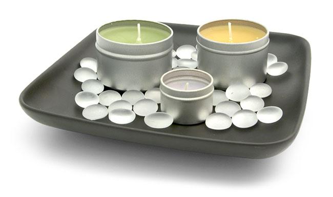 Deep Dish Candle Tins