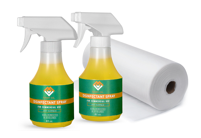 Disinfectant Spray Bottles