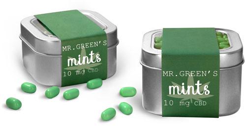 CBD Edible Mint Tins