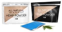 Hemp Protein Powder & Hemp Seed Pouches