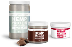 Hemp Protein Powder Plastic Jars