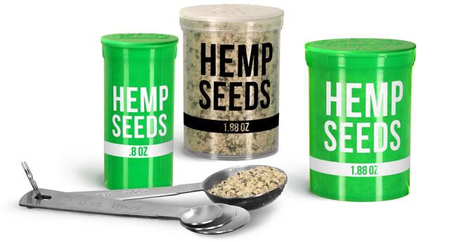 Hinge Top Hemp Seed Vials