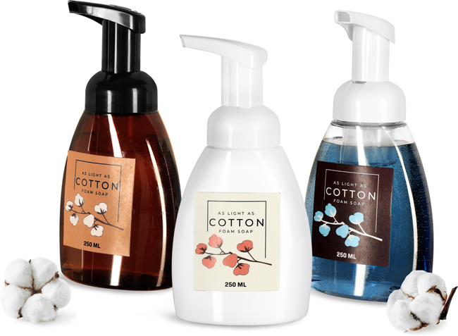 Foaming Hand Soap Bottles