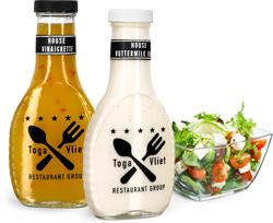 Glass Salad Dressing Bottles for Food Service