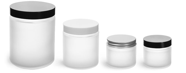 Product Spotlight - Frosted Glass Containers