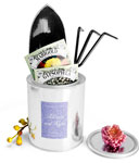 Round Metal Paint Can Wedding Favor Ideas