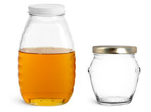 Glass Honey Containers