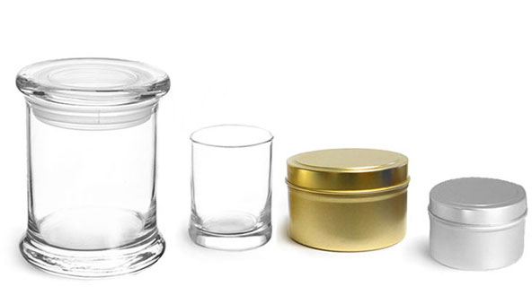 Product Spotlight - Metal & Glass Candle Containers