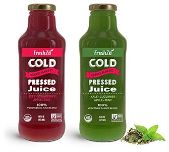 Juice and Wellness Glass Beverage Bottles