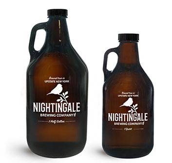 Home Brew and Distilling Glass Beverage Bottles