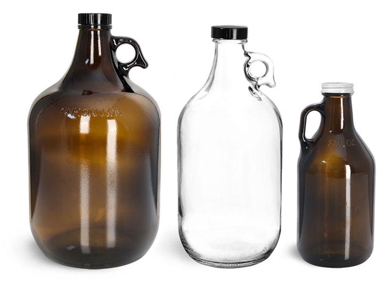 Glass Beverage Bottles for Home Brew and Distilling Glass Beverages