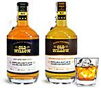 Liquor Bottles, Clear Glass Whiskey Bottles w/ Handles
