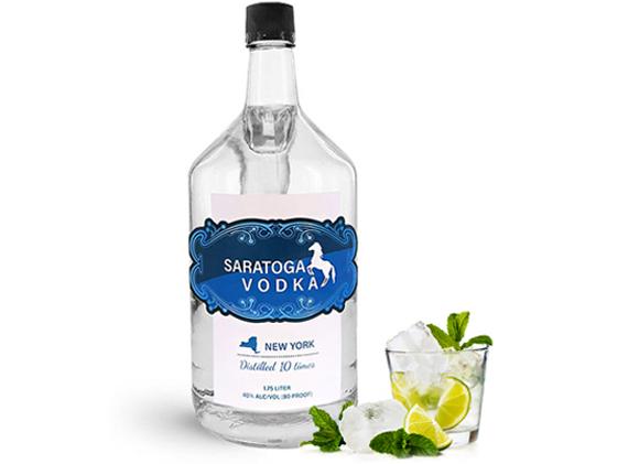 Glass Liquor Bottles