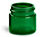 Green Plastic Jars