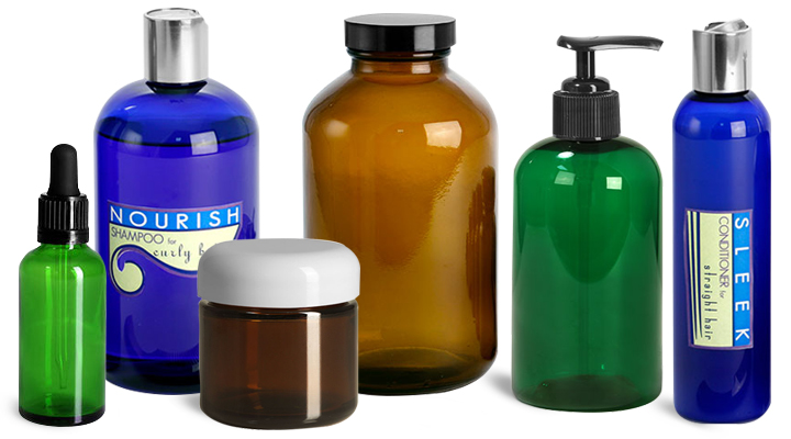 Hair Care UV Protection Containers