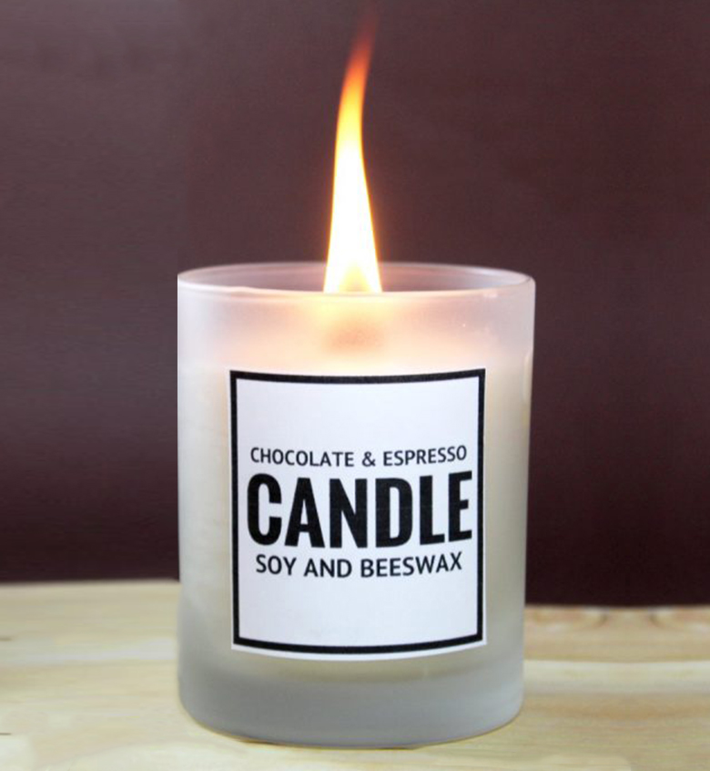 Homemade Soy and Beeswax Candles
