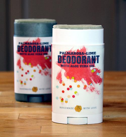 Palmarosa + Lime Natural Deodorant