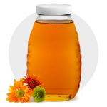 Glass & Plastic Honey Containers
