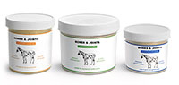 Horse Supplement Jars