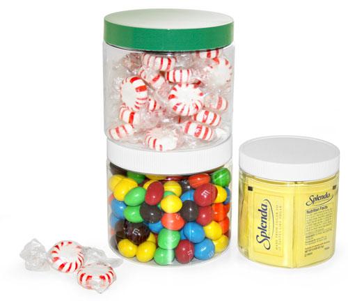Plastic PET Jars To Organize Your Kitchen