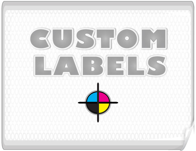 Rectangular Labels, Clear Paper