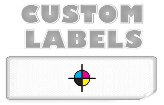 Rectangular Labels, White Paper w/ Matte Finish