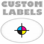 2 x 1.125 Oval Labels