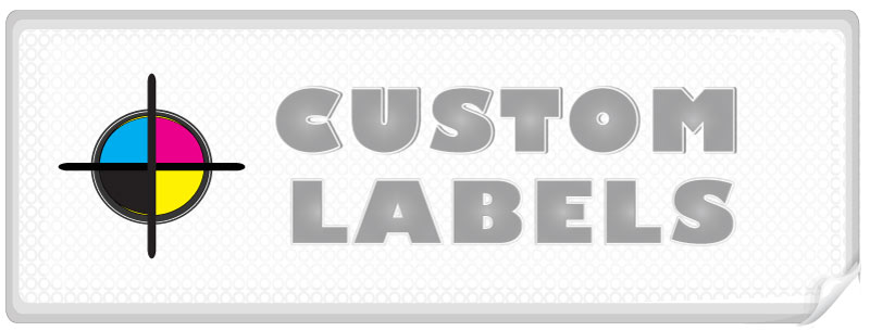 Rectangular Labels, Matte Finish Printed On White Paper