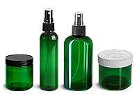 Green PET Bottles and Jars Promo