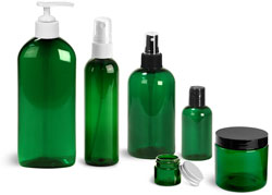 Green PET Bottles & Jars Promo