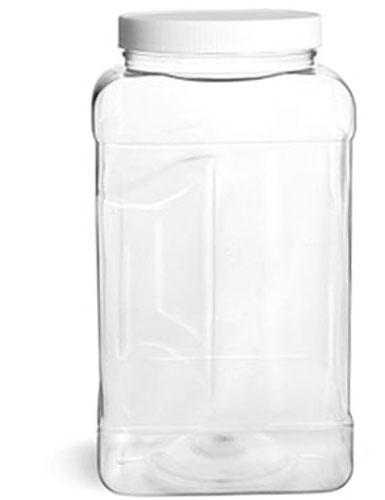Plastic CBD Dispensary Jars & Tubs