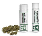 Cannabis Packaging, Child Resistant Plastic Vials