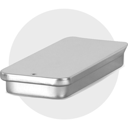 Metal Sample Size Containers