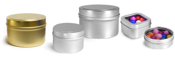 Metal Candle Tin Packaging