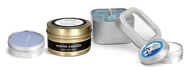 Product Spotlight - Metal Candle Tins