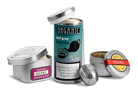 Metal Food Containers