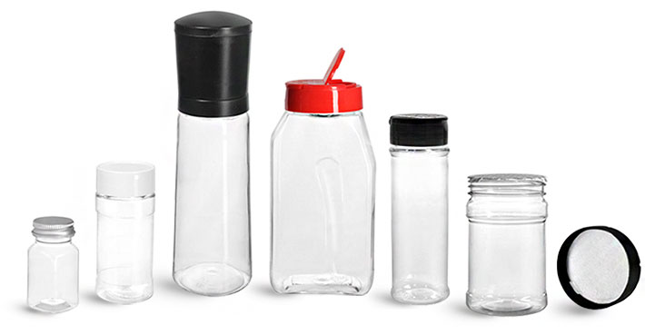 Plastic Spice Containers