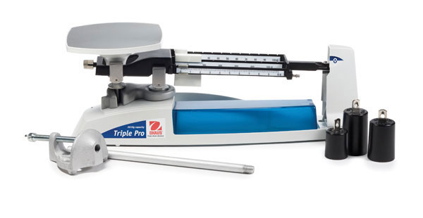 Scales, Triple Pro Mechanical Balance w/ Attachment Weight Set