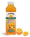Plastic Orange Juice Bottles