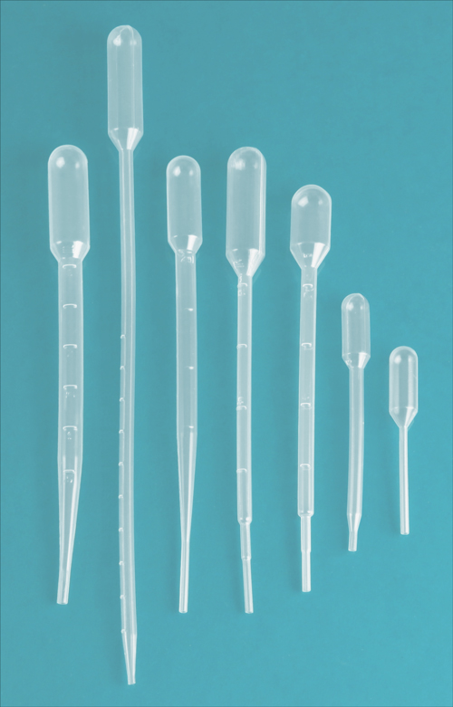 Disposable Pipettes, Natural Plastic Disposable Transfer Pipettes