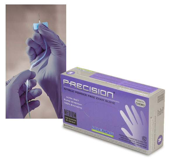 Nitrile Gloves, Precision Violet Nitrile Powder-Free Exam Gloves