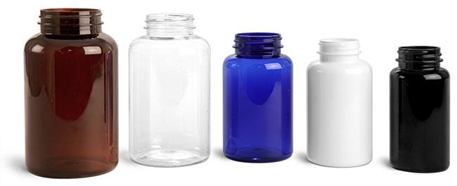 PET Round Pharmaceutical Bottles