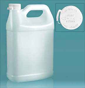 Snap Lok Child Resistant Caps with Jugs for Cleaning Supplies