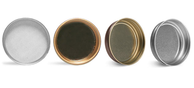 Product Spotlight - Lined and Unlined Metal Caps