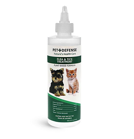 Flea & Tick Treatment Bottles