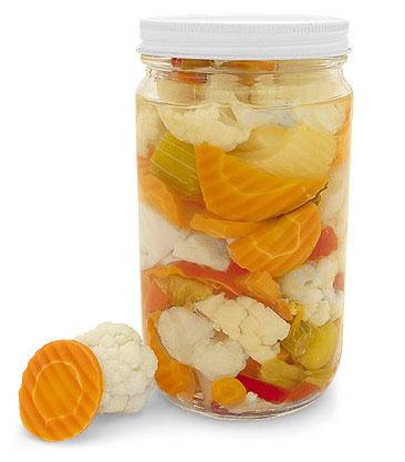 Giardiniera Pickling Jars