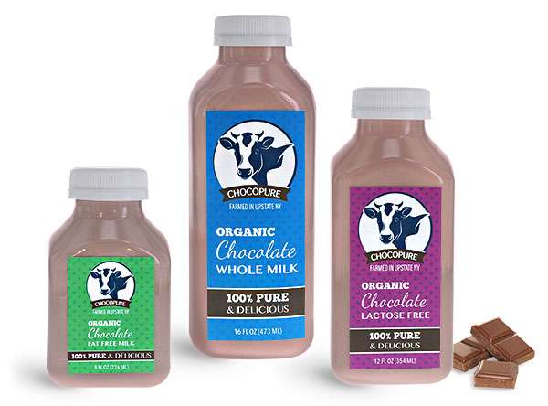 Dairy Bottles, Chocolate Milk Bottles